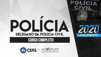 CURSO COMPLETO PARA DELEGADO DA POLÍCIA CIVIL – 2020