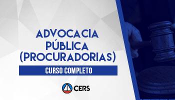 CURSO PARA ADVOCACIA PÚBLICA (PROCURADORIAS) 2020