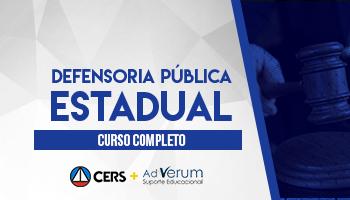 CURSO COMPLETO PARA A DEFENSORIA PÚBLICA ESTADUAL 2020