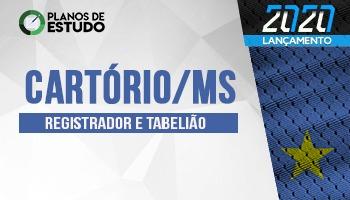 2 MESES | PLANOS DE ESTUDO COM TUTOR | CURSO CONCURSO CARTÓRIO MS | CRONOGRAMA