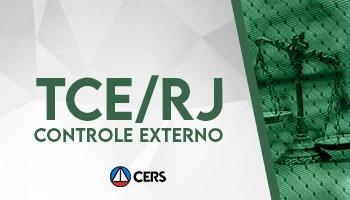 CURSO PARA O CONCURSO DO TRIBUNAL DE CONTAS DO ESTADO DO RIO DE JANEIRO (TCE RJ) – ÁREA: CONTROLE EXTERNO