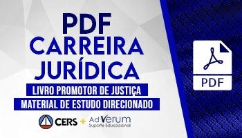 Livro Promotor de Justiça | PDF Ad Verum | Material Digital
