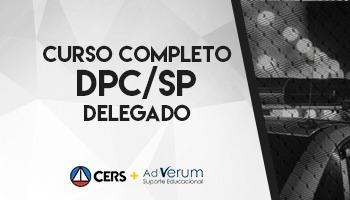 CURSO PARA DELEGADO DE POLÍCIA CIVIL DE SÃO PAULO - DPC SP - PREPARAÇÃO ANTECIPADA