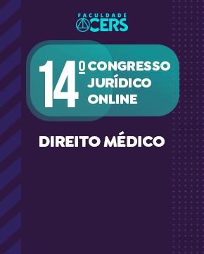 GRATUITO - 14º CONGRESSO JURÍDICO EM DIREITO MÉDICO