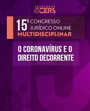 GRATUITO - 15º CONGRESSO JURÍDICO MULTIDISCIPLINAR
