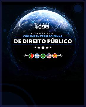 GRATUITO - CONGRESSO INTERNACIONAL DE DIREITO PÚBLICO