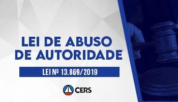 CURSO SOBRE A NOVA LEI DE ABUSO DE AUTORIDADE: LEI N°13.869/2019