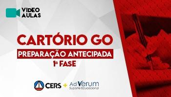 CURSO DE PREPARAÇÃO ANTECIPADA PARA CONCURSO DE CARTÓRIO GO
