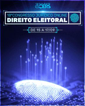 GRATUITO - 18º CONGRESSO JURÍDICO ONLINE - DIREITO ELEITORAL