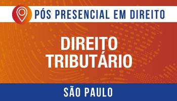 SÃO PAULO - Direito Tributário